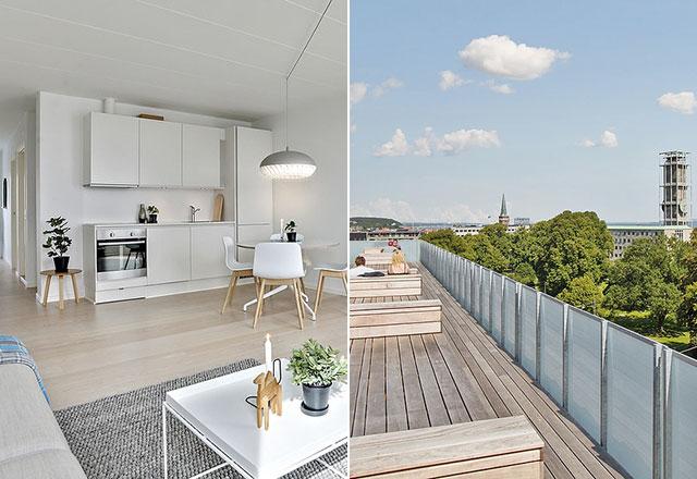 AARHUS // Karolinegården prøvelejlighed, over 100 ejerlejligheder solgt på under 12 mdr.